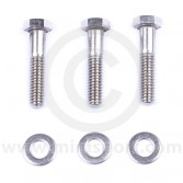 Thermostat housing standard type short bolts for classic Minis
