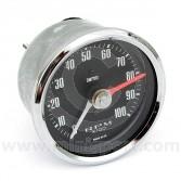 Smiths Mini Tachometer 80mm - 8000 Rpm - Electric - Chrome/Black