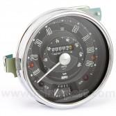 Smiths classic Mini Speedometer - 90mph black face