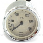 SMITG131102-C078M Smiths Classic Mechanical oil temperature gauge has a range of 40-140° degrees C and comes with magnolia face and chrome bezel.