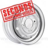 "Cooper S 3.5"" x 10"" Steel Wheel - Silver (Wheels) Clearance Seconds"