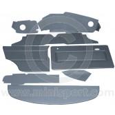 12 Piece Interior Panel Kit for Mini 1275GT RHD 69-75