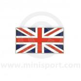Enamel Union Jack A Panel Badge