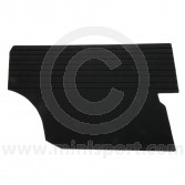 Rear Quarter Panels for Australian MK1 Mini in Black