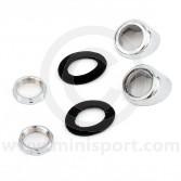 Wiper Wheel Box Bezel Kit - Chrome
