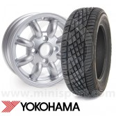 """Yokohama A539 sports tyre the perfect performance tyre for your Mini with 12"""" wheels"""