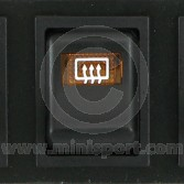 Dash Switch - MK4 - 1976-01 - Heated Rear Screen - 2 rounded pin