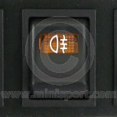 Dash Switch - MK4 - 1976-01 - Rear fog lamp - 2 rounded pin