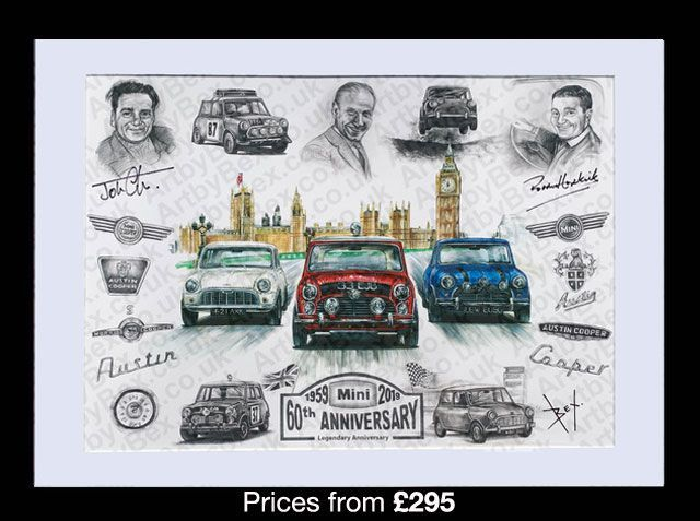 ArtbyBex launches new artwork depicting Paddy Hopkirks most famous victories