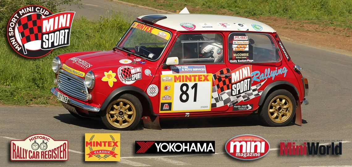 Mini Sport Cup all-female crew Mini Girls Rally Team