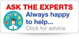 Ask the Experts. We are always happy to help or advise. Get in touch with us today!