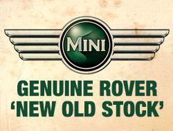 Genuine Rover Mini Parts