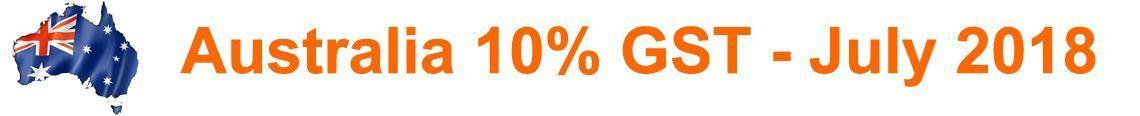 Australia 10% GST