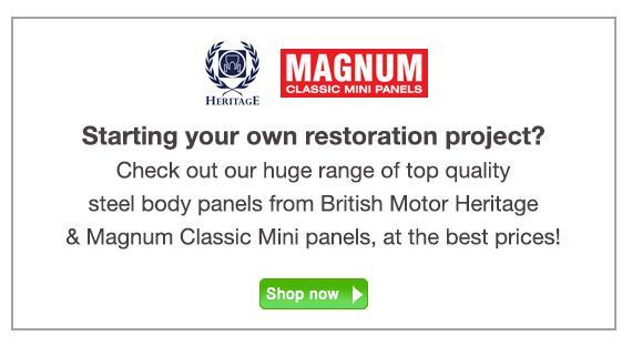 Mini Sport Body Panels for Classic Mini