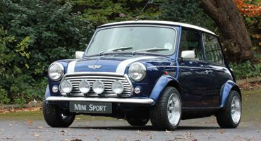 Mini Sport Blue Mini Cooper Restoration