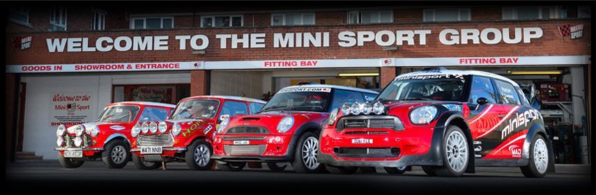 Welcome to Mini Sport The Worlds Premier Mini Specialists